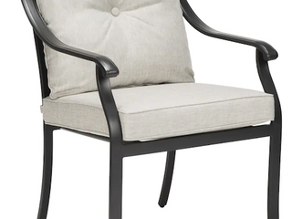 Four Metal Dining Chairs Stationary Gray