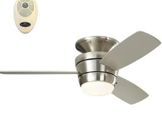 Harbor Breeze 44in Brushed Nickel Finish Ceiling Fan