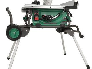 Metabo HPT  was Hitachi Power Tools  10 in Carbide Tipped Blade 15 Amp Table Saw