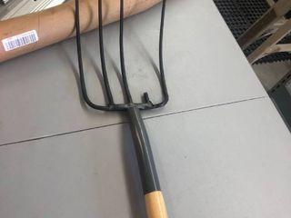 Craftsman Wooden handle pitchfork