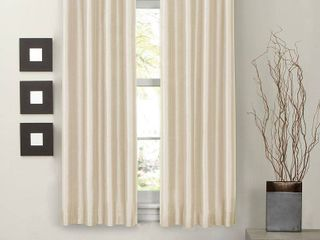 One Thermal lined Room Darkening Curtain Panel