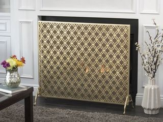 Ellias Single Panel Fireplace Screen by Christopher Knight Home Retail 129 49