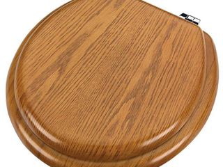 Oak Wood Toilet Seat