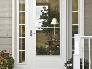 Storm Door   White
