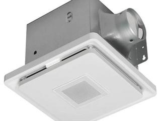 Bluetooth Bathroom Fan   Speaker w lED