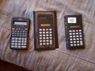 lot of 3 Calculators