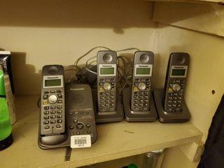 Panasonic 4 Handset Cordless Phone System