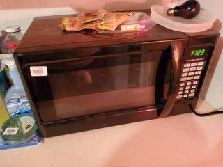 Black Hamilton Beach Microwave