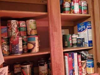 lot of Assorted Canned and Boxed Goods