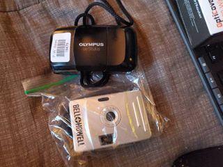 Olympus Stylus and Bell and Howell Cameras