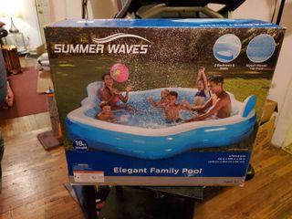Summer Waves Elegant Family Pool in Box