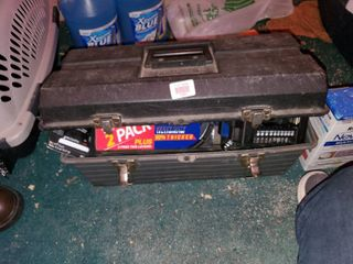 Black Toolbox with Contents
