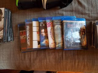 lot of Assorted Blu Ray DVDs