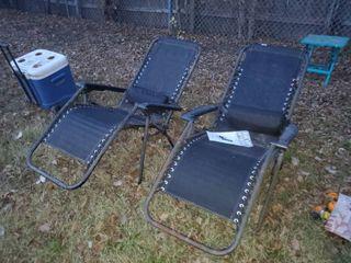 Pair of Zero Gravity Chairs