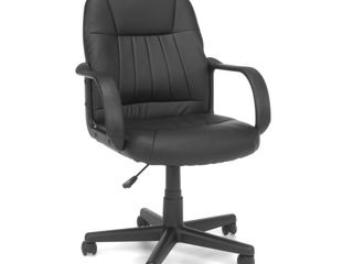 Essentials Collection Executive Office Chair Black   OFM