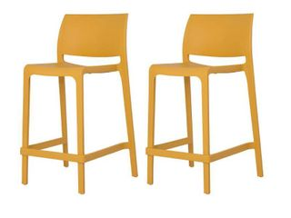Set of 2 Sensilla Stackable Counter Stool  Retail 190 99