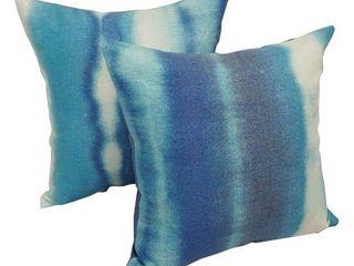 Solarium Willsboro 17 inch Indoor Outdoor Throw Pillows  Set of 2