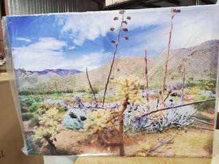 Dean Uhlinger  The living Desert  Gallery wrapped Canvas  Retail 129 49