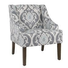 Copper Grove Boulogne Suri Blue Swoop Chair  Retail 171 99