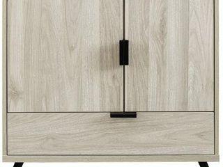 30  2 Door  1 Drawer Accent Cabinet   Birch
