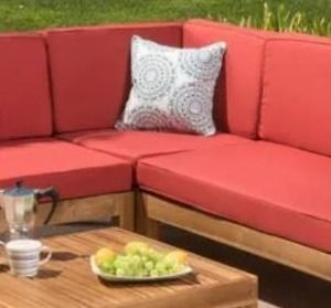 Oana outdoor sectional PIECE by Christopher Knight