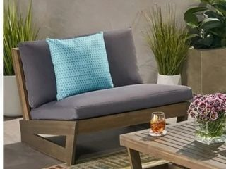 Sherwood Outdoor Acacia Wood Chair by Christopher Knight Home