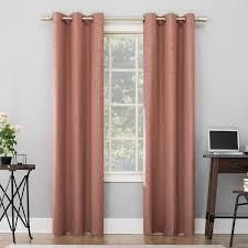 Set of 2 Sun Zero Cyrus Thermal Total Blackout Grommet Curtain Panel