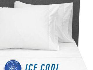 SensorPedic Ice Cool 4 piece 400 TC Bed Sheet Set