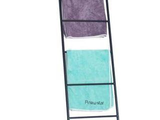 Metal Free Standing Bath Towel ladder Storage Rack