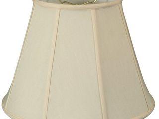 Royal Designs Eggshell Deep Empire Basic lamp Shade  6 x 12 x 9 25  Retail 78 48