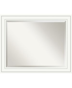 Bathroom Mirror large  Craftsman White 33 x 27 inch   26 88 x 32 88 x 0 889 inches deep  Retail 175 49