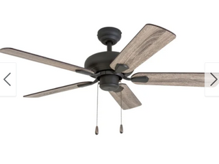 The Gray Barn Heddinge 42 Inch Aged Bron Ceiling Fan