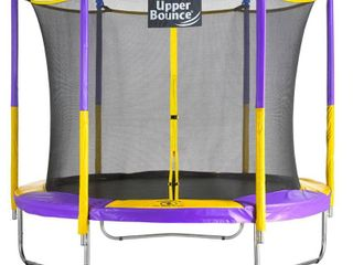 Upper Bounce 9  Trampoline Round with Safety Enclosure