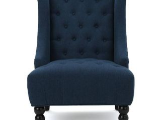 Toddman Fabric High Back Club Chair by Christopher Knight Home  Retail 267 99