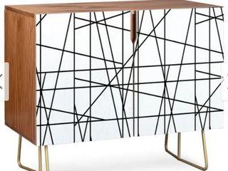 Deny Designs Architecture lines Credenza