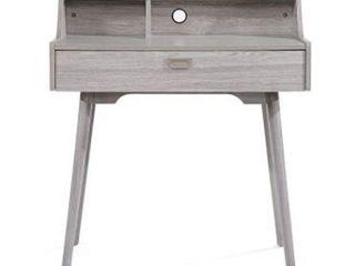 Ellison Mid Century Modern Wood Office Desk