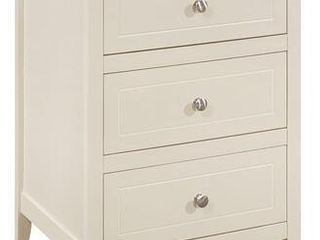 Glory Furniture Daniel 3 drawer Wooden Nightstand  Retail 157 49