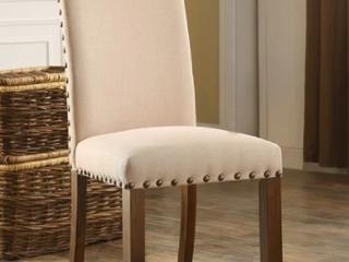 Furniture Of America Serg Rustic Walnut Dinning Chair