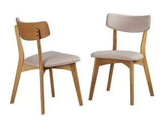 Nissie Mid Century Diningm Chairs by Christopher Knight Home