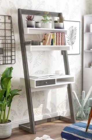 Furniture of America Tali Contemporary Bookcase w Desk
