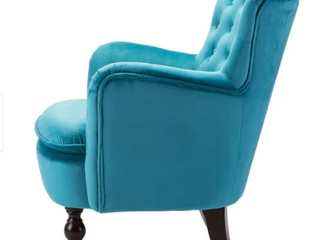 Isabelle Accent Chair   Teal