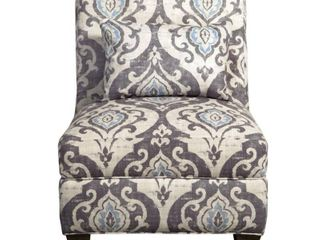 HomePop Blue Slate large Accent Chair  Retail 226 49