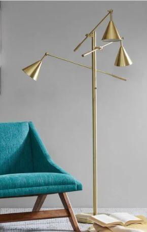 Carson Carrington Utena Gold Floor lamp Retail 141 99