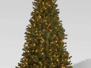 7ft Noble Fir Hinged Artificial Christmas Tree