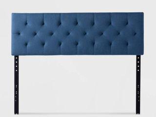 Queen Size Brookside Emmie Adjustable Upholstered Headboard  Retail 104 49