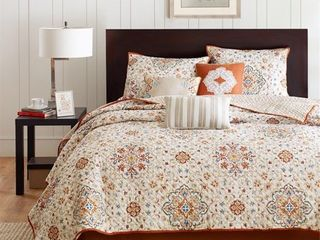 The Curated Nomad la Boheme 6 piece King Coverlet Set   Retail 92 49