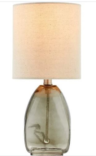Adesso Vintage Farmhouse Hammered Glass Table lamp