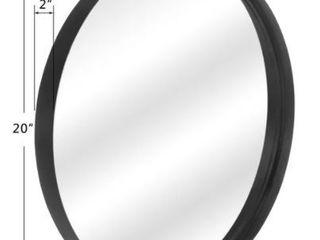 Round Art Wall Mirror Metal Frame  20