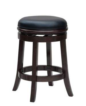 24  Backless Counter Height Barstool Cappuccino   Boraam