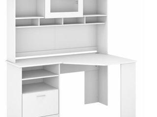 Incomplete  Hutch Only  Bush Furniture 60  White Desk Hutch